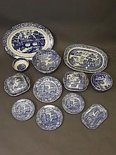 A Spode part dinner service and a quantity of