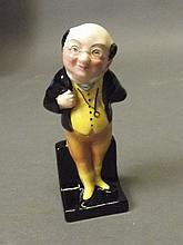 A Royal Doulton pottery figure 'Pickwick', 4