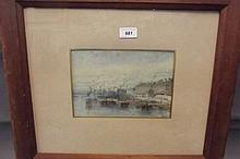 Vincent Blatter 1843-1913, a C19th watercolour,