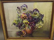 Daisy Anderson, a signed watercolour, still life