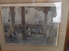 William Russell Flint, pencil signed colour print,