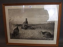 Archibald Thorburn, pencil signed print depicting