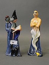 A Royal Doulton porcelain figure 'The Genie' HN 29