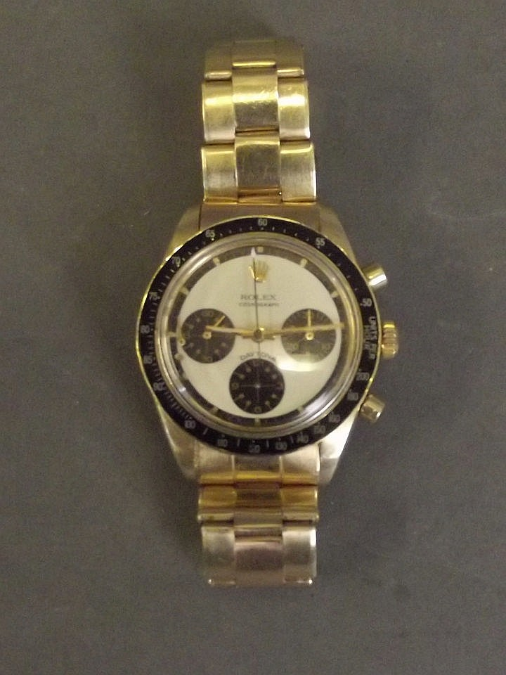An 18ct yellow gold gentleman's Rolex Daytona