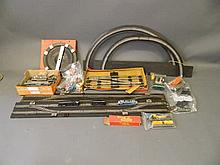 A large quantity of Hornby track rolling stock, engines, signals etc, 48''