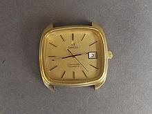 An Omega Seamaster quartz gentleman's wristwatch, lacks strap, dial 1½'' x