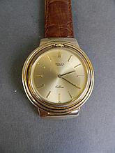 An 18ct gold Rolex Cellini gentleman's wristwatch, dial 1½'' diameter