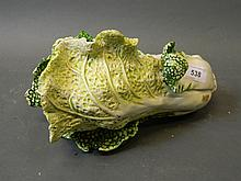 A composition model of a cabbage, 10'' long