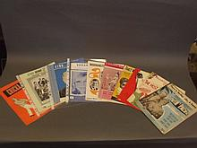 A collection of 1950/60s sheet music to include