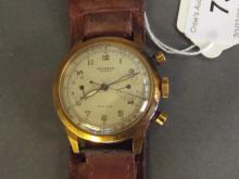 A gentleman's 18ct gold Universal Compur Geneve wristwatch