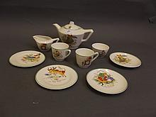 An early 20th Century English child's pottery tea