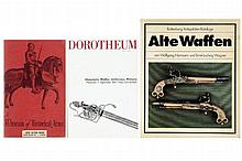 A lot of three arms auction catalogues