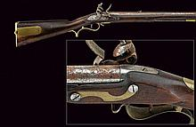 A Baker flintlock rifle