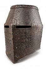 A pot-helmet in the style of the 13th Century