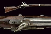 A 1822T model percussion gun