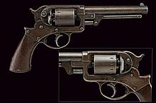 A Starr Arms & Co. D.A. 1858 Army Revolver