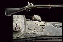 A 1816 model military percussion gun