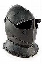 A cavalry helmet