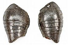 A pair of pauldrons