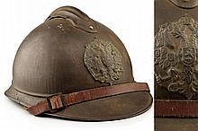 A rare Adrian helmet