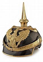 A fine dragoon's officer's pickelhaube