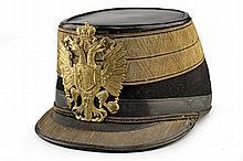 An officer's shakot
