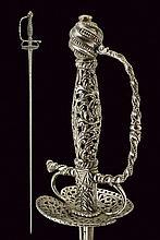 A pierced small-sword