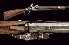 An interesting gun with early flintlock