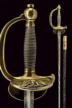 An infantry officers small-sword