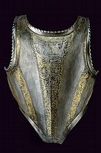 An engraved breast-plate