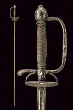 A silver-inlaid small-sword for a page boy
