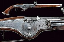 A wheel-lock pistol