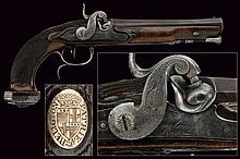 An officer's pistol by Duchamp
