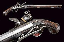 A flintlock pistol by Domenico Maria Lelli