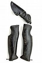 A rare pair of leg and hand defences