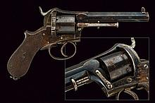 An interesting pin-fire revolver