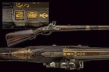 A beautiful roman style flintlock gun by Matassi
