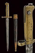 A bayonet-dagger for the 1870 model Vetterli rifle