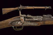 An Artillery Snider breech-loading carbine