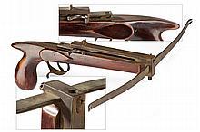 A pistol size crossbow
