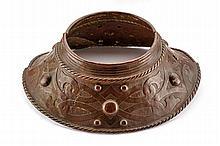A copper gorget