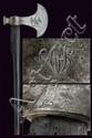 A very rare Napoleonic pioneer's axe