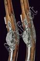 A fine pair of flintlock pistols by Gio. Batt. Bucele
