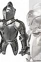 A very fine miniature half armor