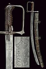 A rare Hussar's sabre