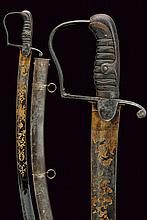 A cavalry sabre with beautiful blade