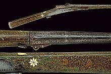 A painted matchlock torador