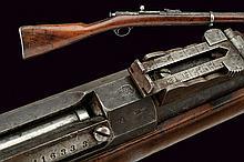A Berdan II bolt action rifle