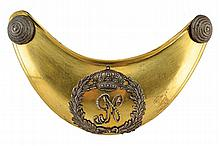A National Guard officer's gorget