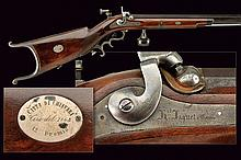 A percussion target rifle, tournament price